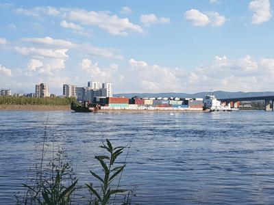 Доставка груза в Норильск контейнерами по реке