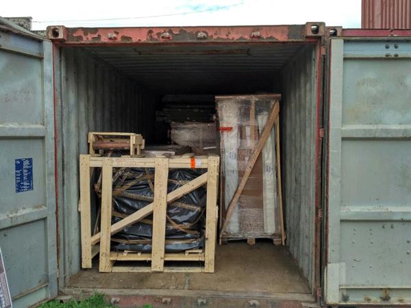 Доставка сборного груза в контейнере